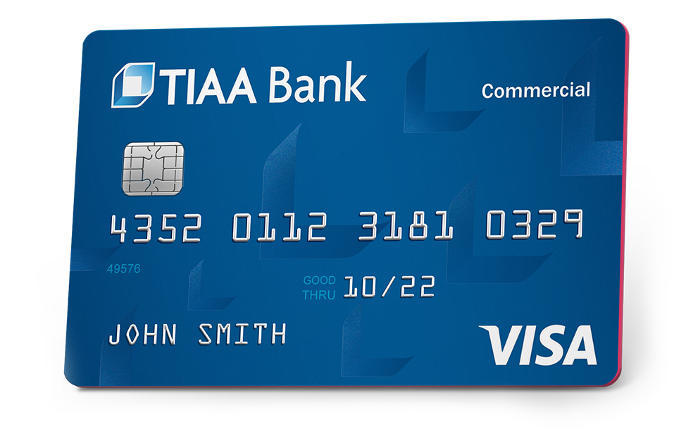 TIAA Bank commercial credit card