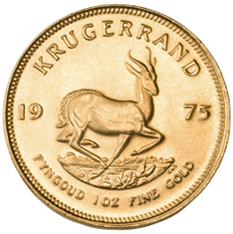 Gold South African Krugerrands